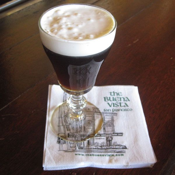 Make Irish Coffee the Buena Vista Cafe Way: After Guinness, the Irish coffee is quite possibly Ireland's most famous drink.