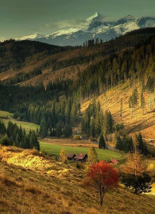 Údolie Čierneho Váhu - Liptovská Teplička