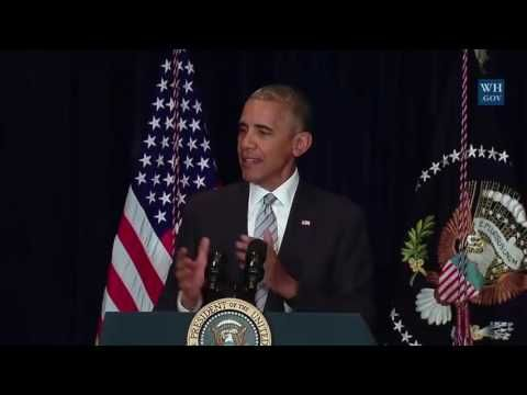 President Obama Press Conference  Confirms 30% of black & hispanics are more likely to get killed by the police than white people. 7/7/16 - YouTube