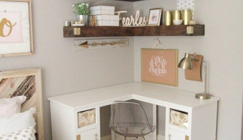 DIY Corner Desk – #corner – #new
