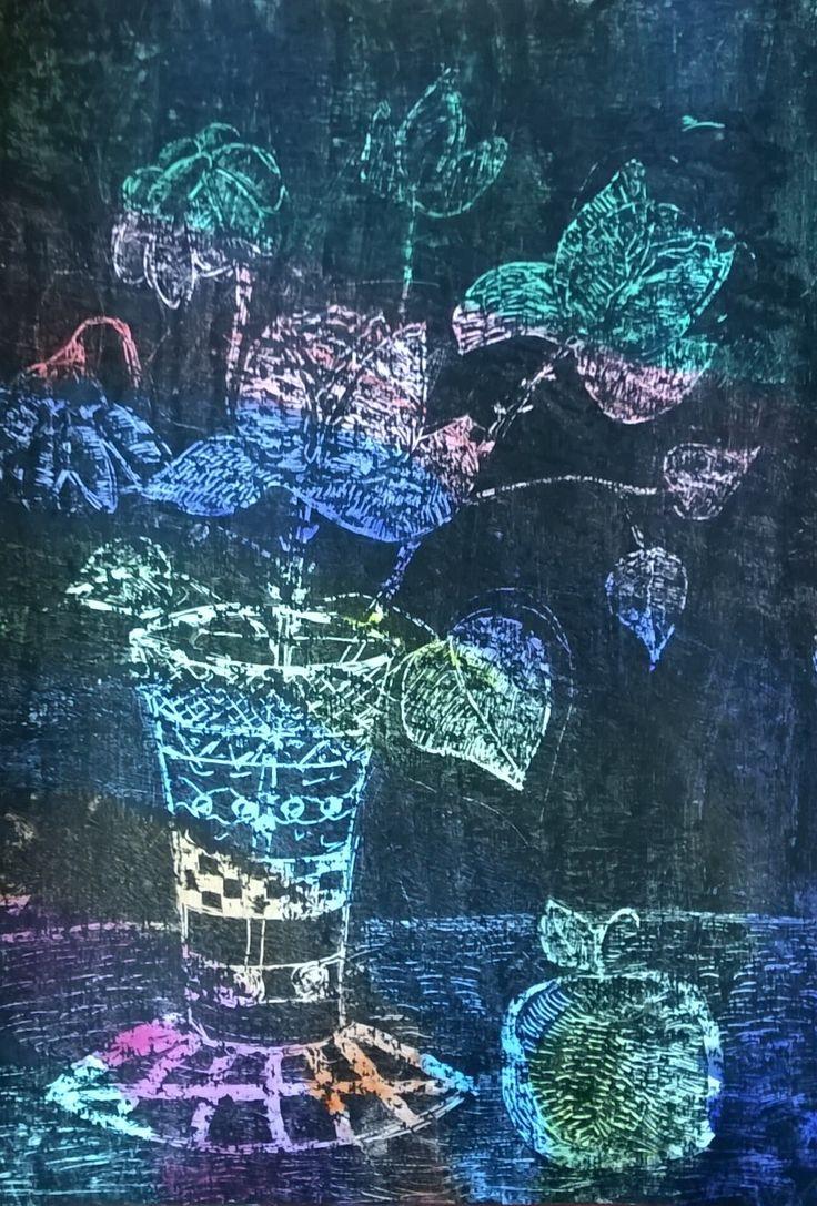 Детские рисунки с тегом декоративный натюрморт | Юный Художник – детские рисунки и конкурсы