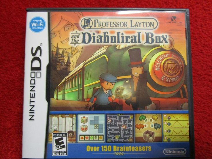 Professor Layton and the Diabolical Box  (Nintendo DS, DSI, 2DS, 3DS, NDS)  #COD #CALLOFDUTY #ARMY #RPG #MMORPG #MMO #JRPG #ROLEPLAYING #RP #kingdomhearts #finalfantasy #squarsoft #squarenix #squareenix #PS3 #PS4 #XBOX #XBOXONE #WII #WIIU #NINTENDO #3DS #VITA #PSP #2DS #DS #ZELDA #NDS #Playstation #Sony #disney #disneyana