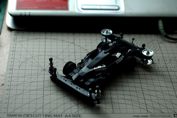 Le time attack machine. #Tamiya #mini4WD