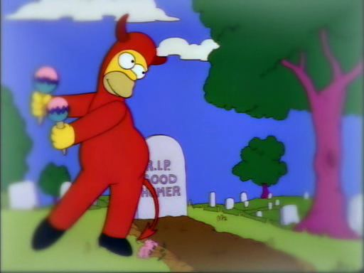 """""""Soy Homero el malo"""""""
