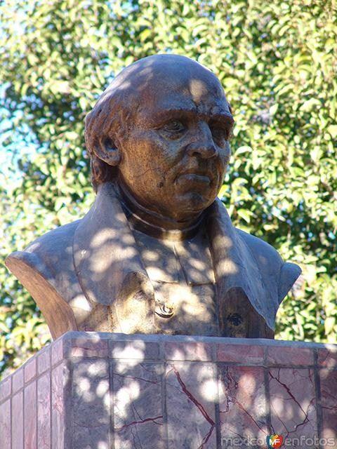 Fotos de Villa Hidalgo, Durango, México: Busto de Miguel Hidalgo