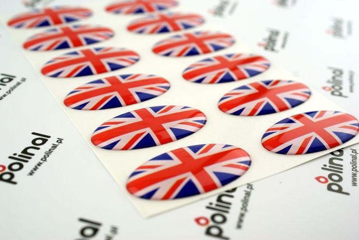 Naklejki 3D w stylu brytyjskim. http://www.polinal.pl