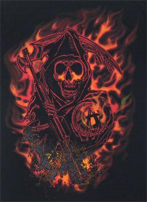 New Sons of Anarchy Logo | 18933 Flame Logo - Sons Of Anarchy T-shirt https://www.fanprint.com/stores/teeshirtstudio-fut?ref=5750