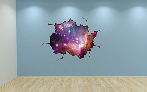 Full Colour Galaxy Cracked Wall Effect Bedroom Wall Sticker Space Decal Kids Bedroom Decoration 60 Second Makeover Limited http://www.amazon.co.uk/dp/B00QRZHYSI/ref=cm_sw_r_pi_dp_K-Kivb16EV1V9