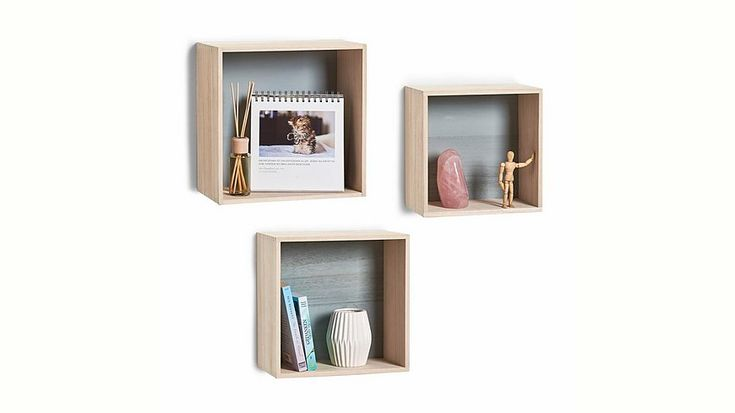 andas Wand-Regal-Set »Cubes«, 3-tlg. Jetzt bestellen unter: https://moebel.ladendirekt.de/wohnzimmer/regale/haengeregale/?uid=7694d4b7-7bb2-5673-80c0-7bd123e944dc&utm_source=pinterest&utm_medium=pin&utm_campaign=boards #wohnzimmer #haengeregale #regale