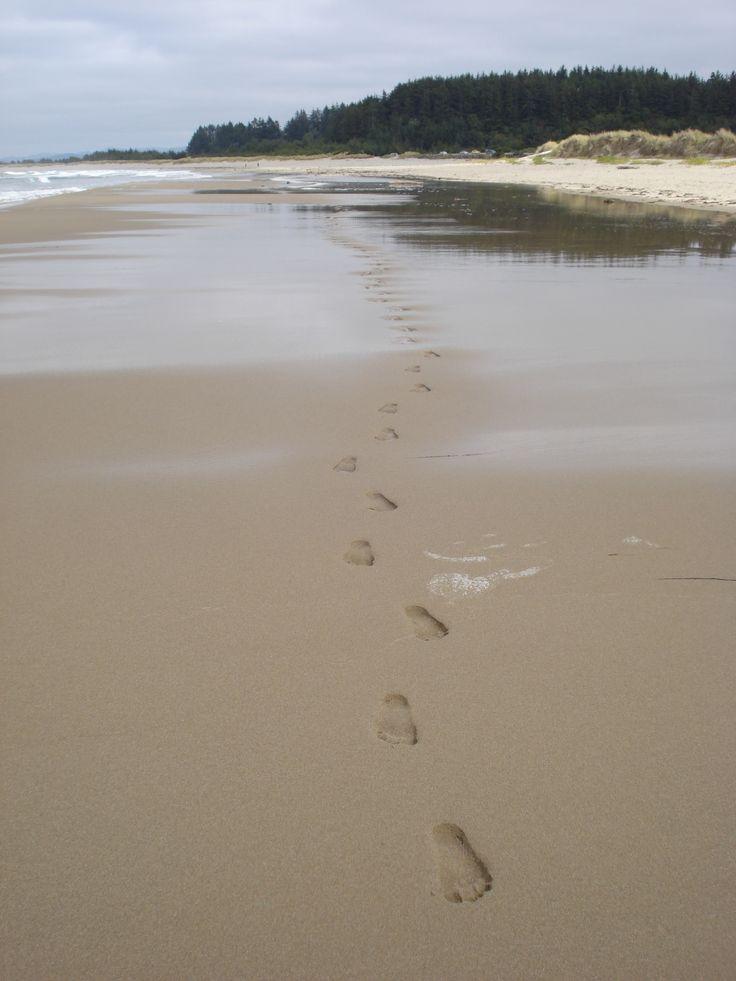 Charleston Oregon beach Take only memories and