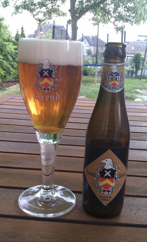 Arend blond, brouwerij De Ryck,  Herzele 6.5% 8/10.