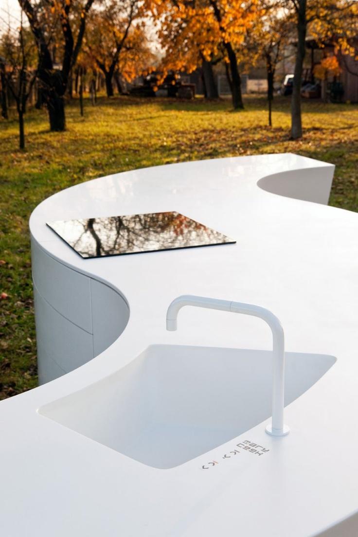 The Maru Kitchen: maximum individuality meets perfect design with HI-MACS