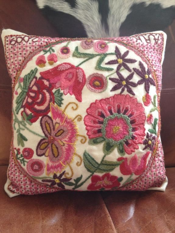 - Traditional pillow in woll