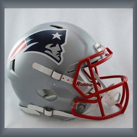 New England Patriots NFL - carosta.com - this helmet is a link to All New England Patriots Merchandise