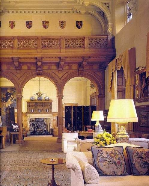 Royal Interiors - Sandringham House, Norfolk, England, UK