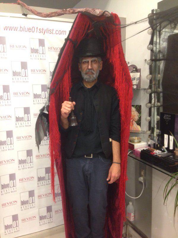 En Halloween en el salón de Cornellà se lo pasaron terroríficamente bien!!!!