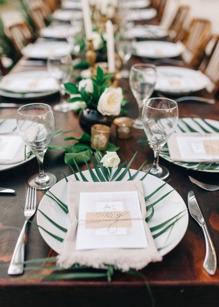 Photography : Sean Cook Wedding Photography | Wedding Venue : Tortuga Beach | Coordination : Destination Weddings Tulum | Event Design : Hannah Shelby Read More on SMP: http://www.stylemepretty.com/little-black-book-blog/2016/10/07/elegant-tulum-wedding/