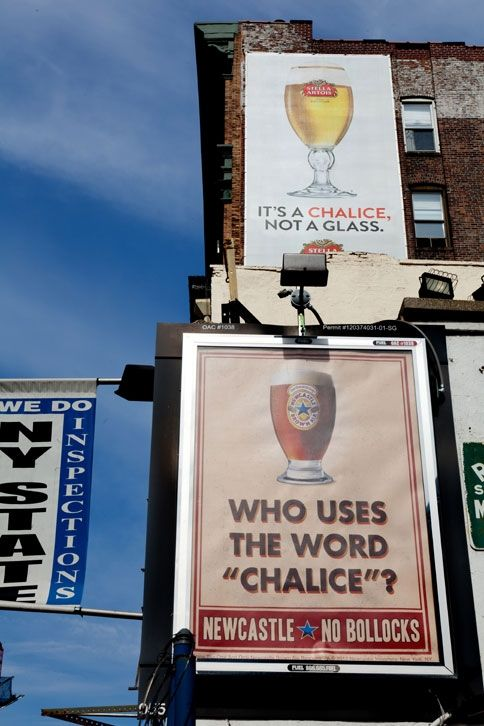 """""""Who Uses the Word 'Chalice'?"""" Well done by @Newcastle and @droga5Beer, Funny Pics, Advertis Campaigns, Funny Pictures, Ads Campaigns, Well Plays, Newcastle, Guerrilla Marketing, Funny Commercials"""