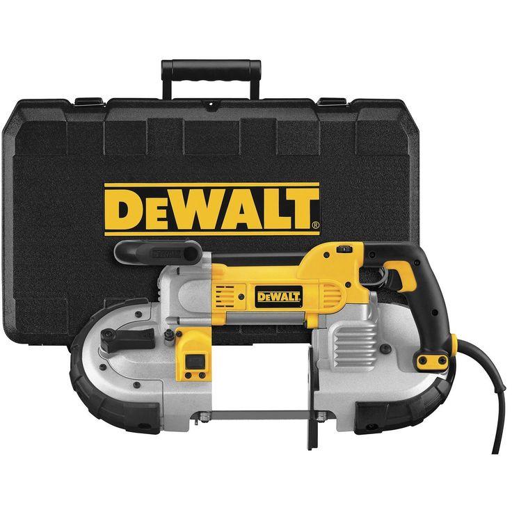 DEWALT DWM120K 10 Amp 5-Inch Deep Cut Portable #Band #Saw Kit
