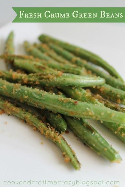 Fresh Crumb Green Beans | Vegetable Recipes | Pinterest