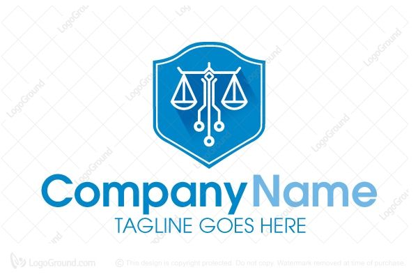 Logo for Sale: Digital Law Logo by stilographic http://www.logoground.com/logo.php?id=11612 law balance attorney lawyer court digital internet computer network defense shield justice cloud system app security service police business online community blog event legal logo logos