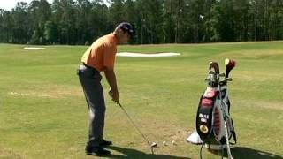 """The clubface angle at impact has the biggest effect on where the ball ends up. Charlie King shows you how to hit more fairways and greens by developing this essential skill """"face control"""". #Golf Swing Drill: toe up to toe up"""