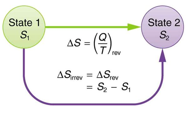 how to work out the entropy