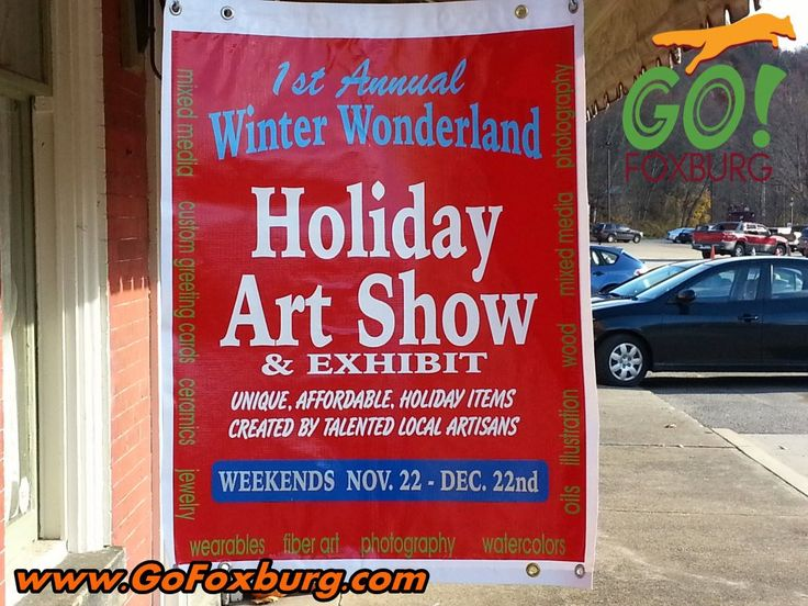 Heads up for the Holiday Art Show at the Red Brick Gallery!