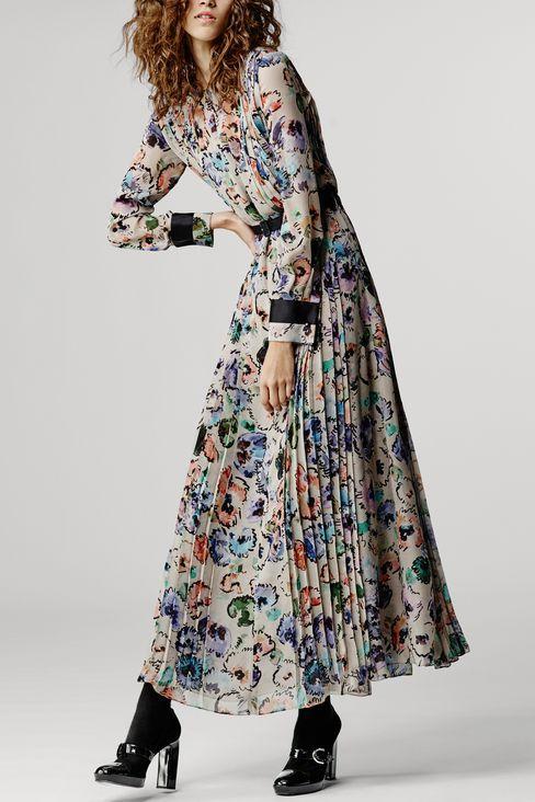 RUNWAY LONG DRESS IN SILK: Dresses Women by Armani - 2
