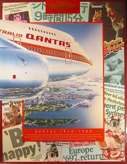70th Anniversary 1970-1980 - Qantas
