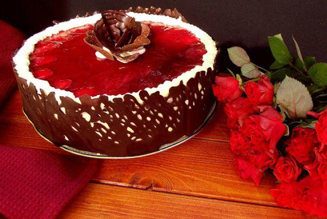 Desert tort racoros, cu fructe si lamaie