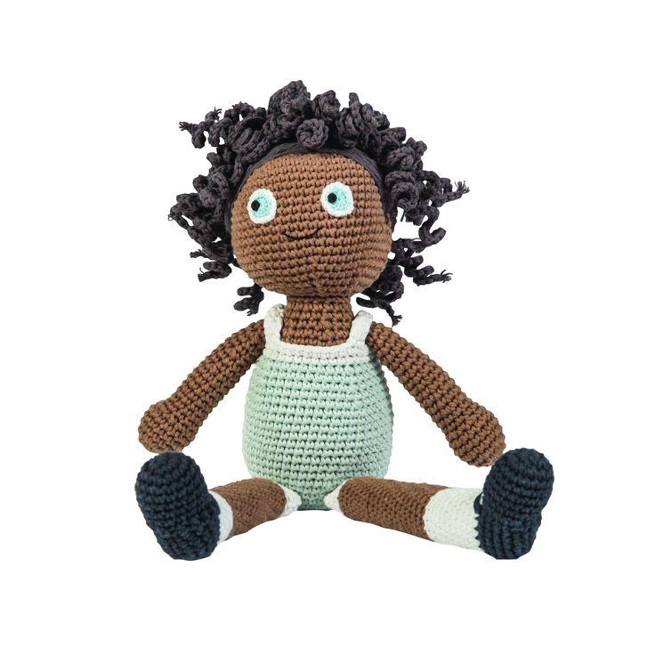 Sebra dukke - Lilly - Tinga Tango Designbutik - Sebra Interiør #dukke#legetøj#børneværelse#sebra