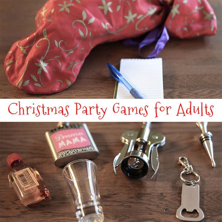 Fun Christmas Party Ideas For Adults: Can You Guess What's In The Stocking? Plus Other Fun