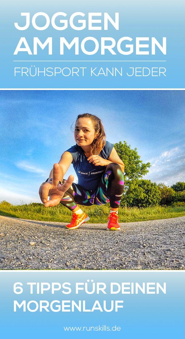 Wir geben dir die besten Tipps, wie es mit dem Lauf am Morgen klappt. Vor der Arbeit, der Schule oder der Uni joggen gehen, kann jeder. Tipps bekommst du zu folgenden Themen: 1. Essen 2. Planung und Timing 3. Aufwärmen 4. Motivation 5. Sicherheit 6. Die Trainingseinheiten  #frühsport #joggenammorgen #laufen