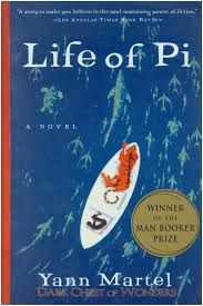 """Life of Pi is a fantasy adventure novel by Yann Martel published in 2001. The protagonist, Piscine Molitor """"Pi"""" Patel, a Tamil boy from Pondicherry, explores issues of spirituality and practicality from an early age. He survives 227 days after a shipwreck while stranded on a boat in the Pacific Ocean with a Bengal tiger named Richard Parker."""