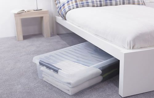 £65 for 3 x XXL Under Bed Box - Plastic H 20 x W 50 x L 80cm