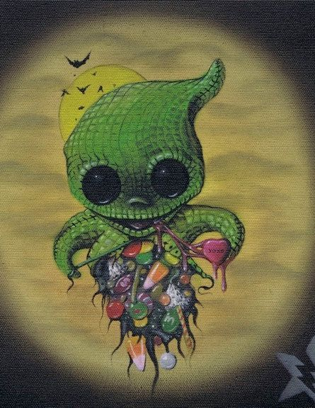 Lowbrow Sugar Fueled Eat Your Heart Out Oogie By