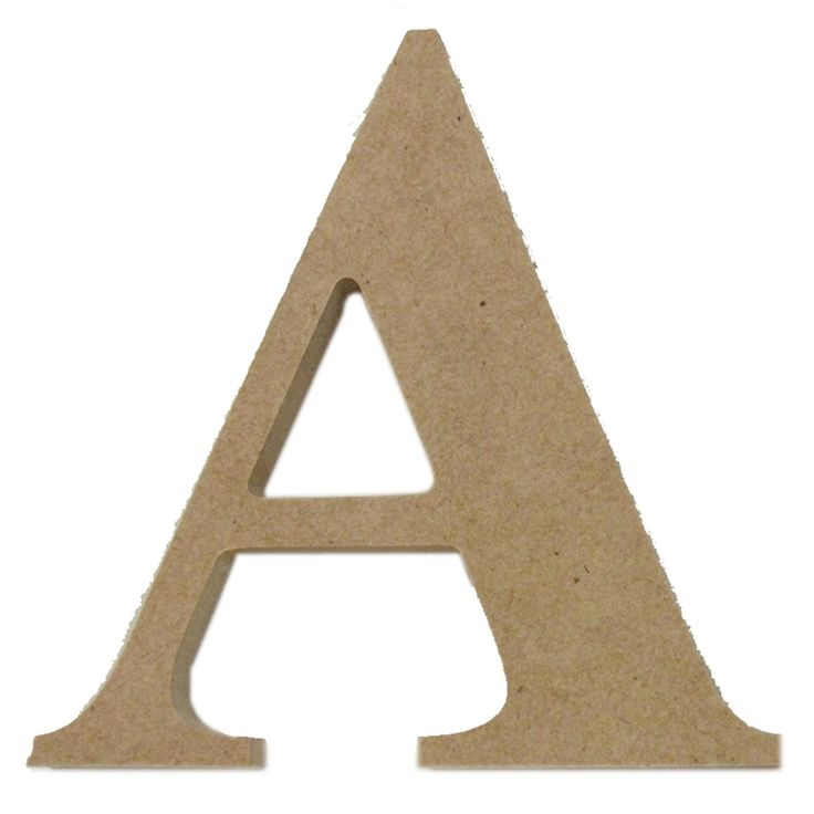 Boyle Medium Craftwood Letter A