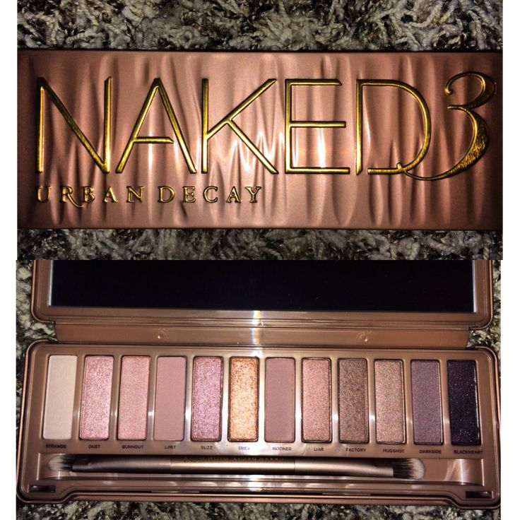 Naked 3. Urban Decay