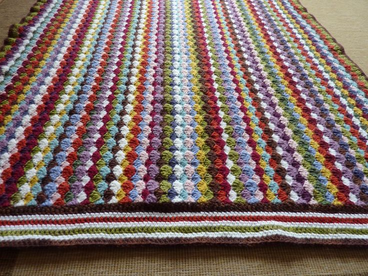 Love the colours in this rug and the idea to use it on the floor.
