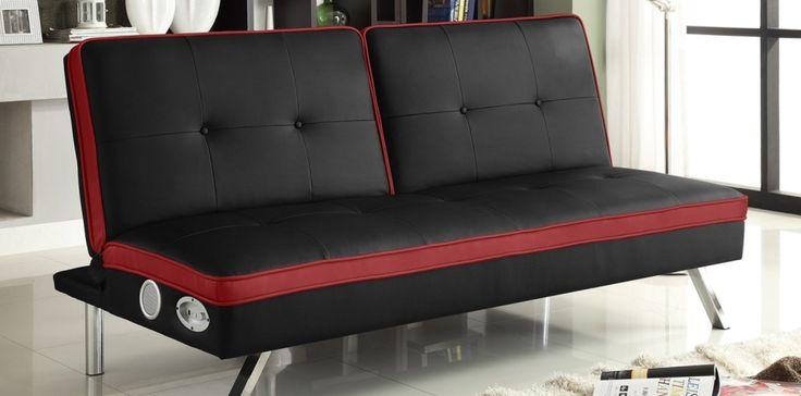 Split Back Memory Foam Sofa Bed
