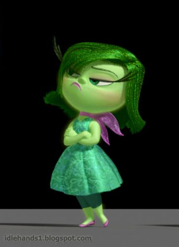 """Inside Out"" Pixar's new movie, character ""Disgust"""