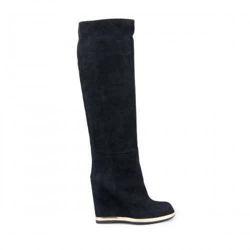 Baldinini wedge knee boots