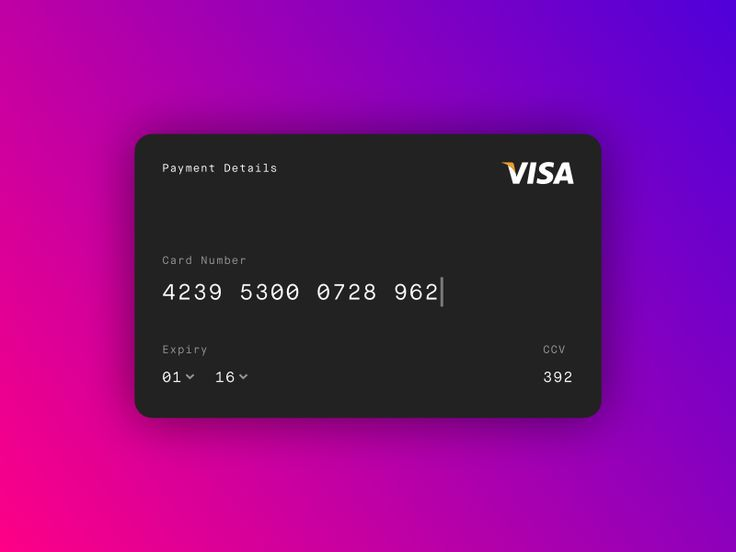 visa credit card designs