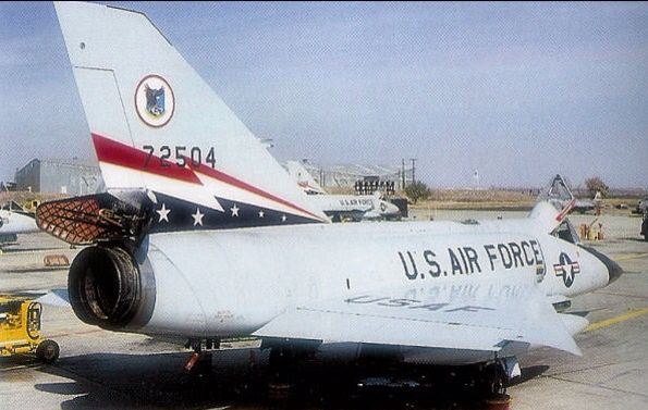 57-2504. Convair F-106A Delta Darts of the 84th FIS.