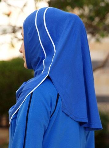 Finesse Contrast Bias Trim Hijab