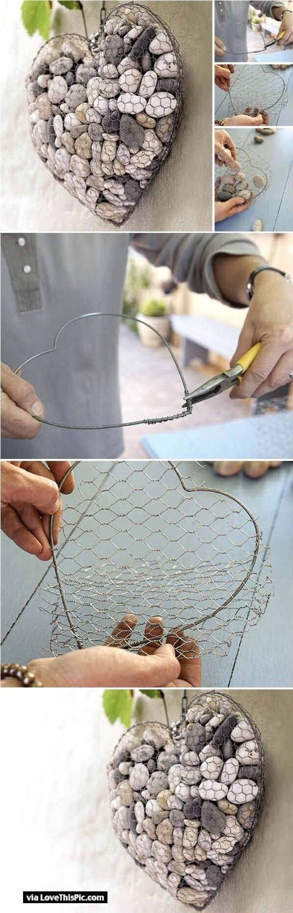How to Create a Unique Stone Heart.