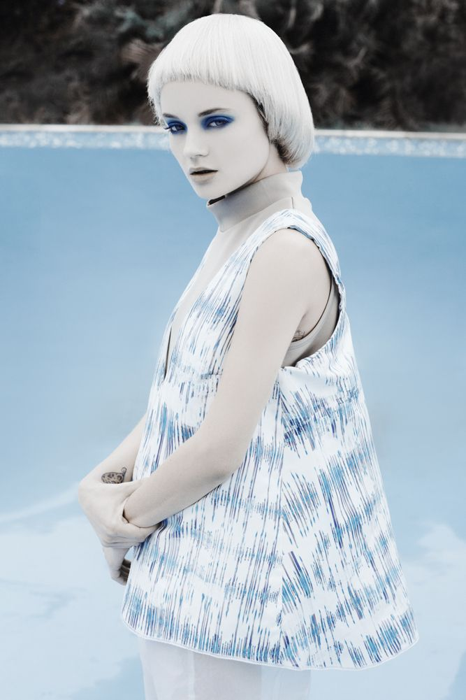 Nastassja Van Der Merwe / Ice Styling // Gabrielle Kannemeyer Mua // Amber Caplan Photography // Kent Andreasen.