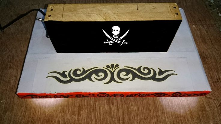 Artronics: How to make an Awesome Pirate Lamp
