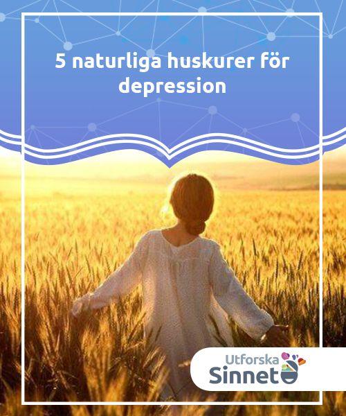 5 naturliga huskurer för depression   Se till att spendera mer tid i solen, då solljus är en av de naturliga huskurer för depression som vi bör dra nytta av om vi drabbats av detta problem.